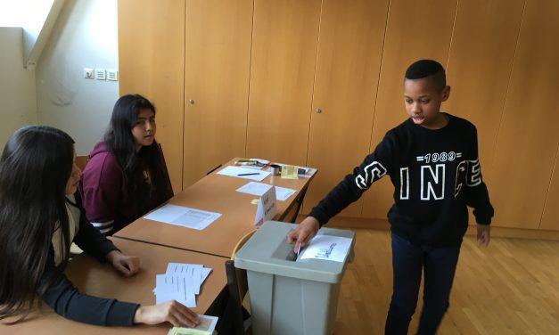 Wahl des SchülerInnenparlaments