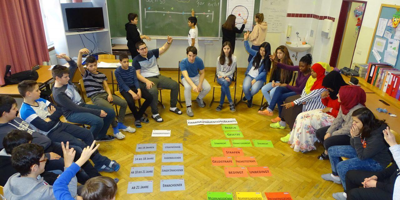 Workshop mit der Polizei: Gewaltprävention