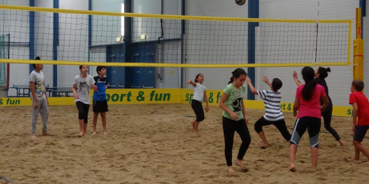 Kennenlernen in der Sport & Fun Halle