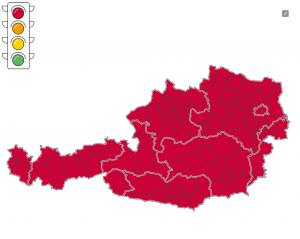 Corona Ampel Österreich 29.10.2020